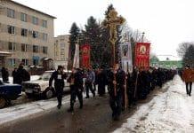 Une procession a eu lieu dans le diocèse de Tchernovitsy-Bucovine pour protester contre les saisies des églises appartenant à l'Église orthodoxe d'Ukraine