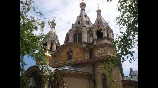 Paris : a service of intercession (moleben) in support Archbishop John (Renneteau)