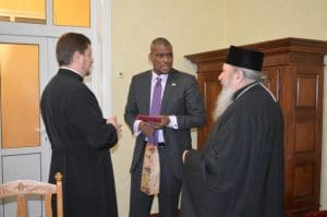 L'ambassadeur des États-Unis en République de Moldavie souhaite développer des projets communs avec la Métropole de Bessarabie du Patriarcat de Roumanie