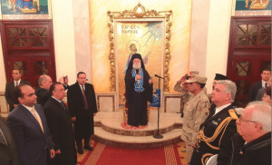 The new governor of Alexandria visited Patriarch Theodore II