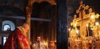 Le métropolite de France Emmanuel au Mont Athos