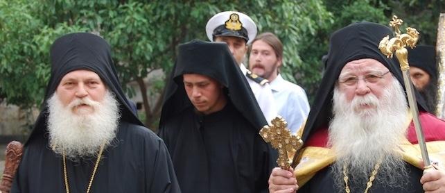 Deux higoumènes athonites se rendront à Kiev le 3 février à l'intronisation du métropolite Épiphane