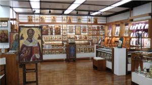 Un magasin d'icônes et de produits monastiques du Mont Athos a été ouvert dans le centre d'Athènes