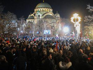 President Putin visited Saint Sava Cathedral in Belgrade