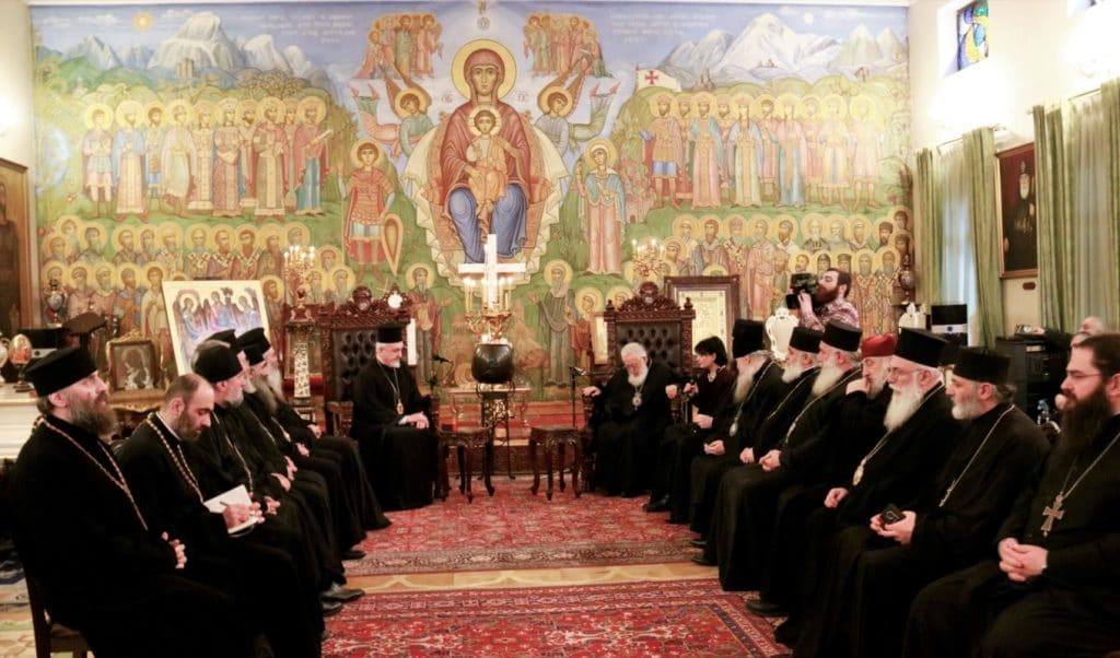 """The Patriarch of Georgia has the wisdom to make a decision about Ukraine"""