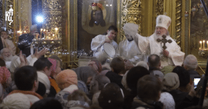 Le patriarche Cyrille a célébré la bénédiction des eaux en la cathédrale de la Théophanie à Moscou (vidéo)