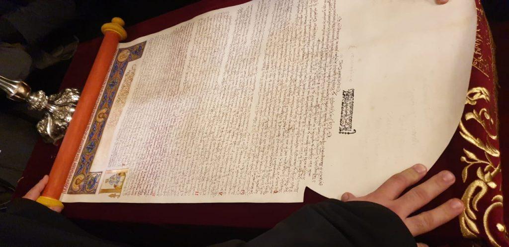 Signature du tomos d'autocéphalie de «l'Église orthodoxe autocéphale d'Ukraine»