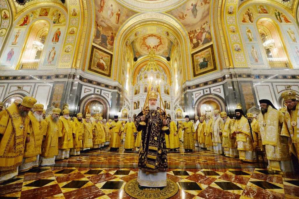 10th anniversary of the enthronement of Patriarch Kirill of Moscow and all Russia