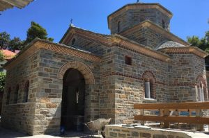 Consecration of the first church dedicated to Saint Paisios on Mount Athos