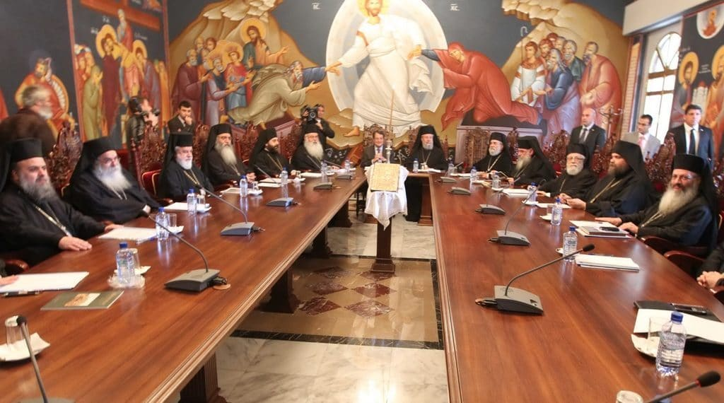 Communiqué by the Synod of the Cyprus Orthodox Church on the situation in Ukraine
