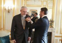 Le métropolite de France décoré de Ordre de l'Amitié du Kazakstan