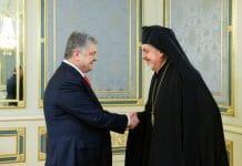 Une délégation du Patriarcat de Constantinople a rencontré le président Porochenko