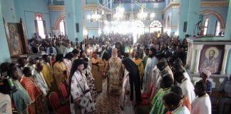 Intronisation du nouveau métropolite de Kananga (République démocratique du Congo)