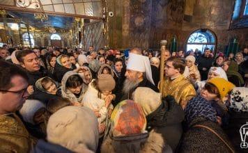 « Le chrétien doit être obstiné dans la prière » a déclaré le métropolite de Kiev Onuphre, primat de l'Église orthodoxe d'Ukraine