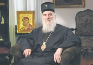 Patriarch Irinej of Serbia sent a letter of support to Metropolitan Onufriy of Kyiv
