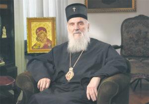 Interview du patriarche de Serbie Irénée au quotidien belgradois « Politika » sur le Kosovo, l'autocéphalie ukrainienne et d'autres sujets