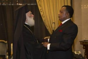 Patriarch Theodore of Alexandria was received by President Denis Sassou Nguesso (Congo)