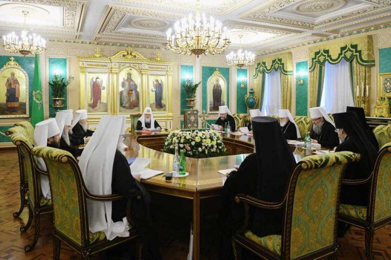 De nouvelles nominations et affectations au sein de l'épiscopat de l'Église orthodoxe russe ont été décidées par le Saint-Synode du Patriarcat de Moscou