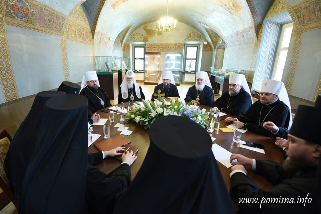 """""""Patriarch"""" Filaret will continue to lead the Kyiv diocese of the new Ukrainian Orthodox Church"""