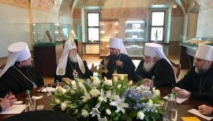 First session of the new Ukrainian autocephalous Church Synod