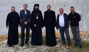 Reprise des travaux de construction de l'église roumaine de Nice