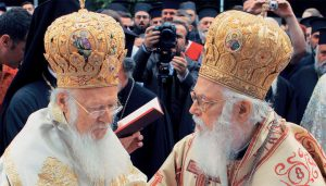 Patriarch Bartholomew's answer to Archbishop Anastasios regarding Ukraine