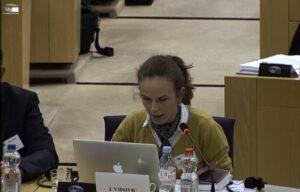 Séminaire de dialogue au Parlement européen : «Intelligence artificielle : préoccupations d'ordre éthique»