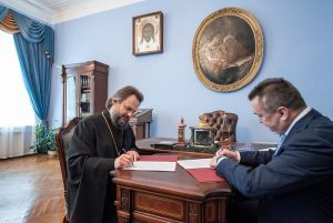 Cooperation agreement between Moscow Theological Academy and Polytechnic University