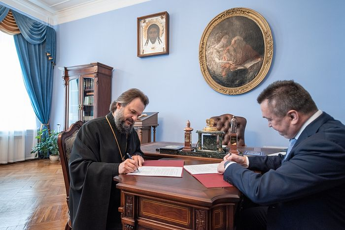L'Académie théologique de Moscou et l'Université polytechnique ont signé un accord de coopération