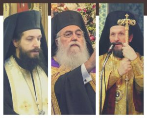 Three new metropolitans elected by the Holy Synod of the Orthodox Church of Greece