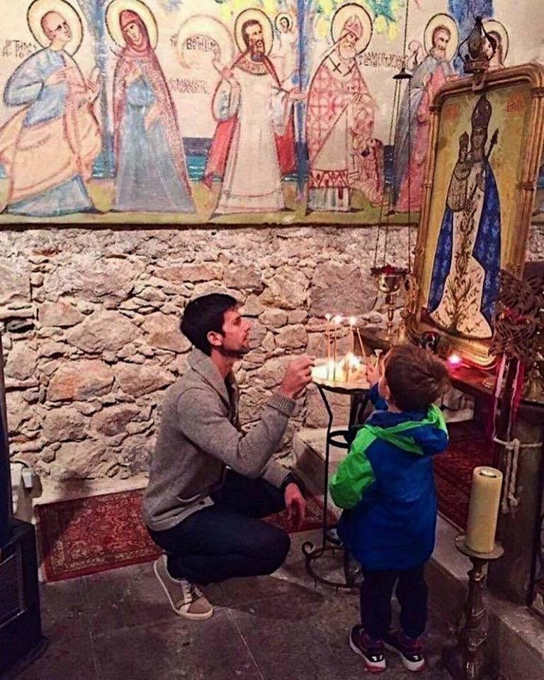 Novak Djokovic ready to help an Orthodox chapel in Nice