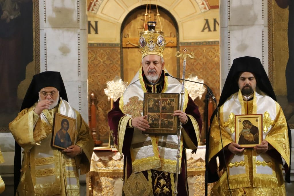 Triumph of Orthodoxy Sunday in Paris