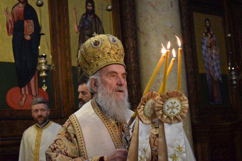 Le patriarche Irénée a célébré un office de requiem pour les victimes des bombardements de l'agression de l'OTAN contre la Serbie