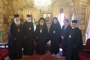 A delegation of the Patriarchate of Constantinople visited the Patriarchate of Antioch
