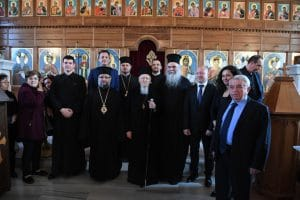 The patriarch of Constantinople went to Adrianopolis (Edirne) for the Akathist service