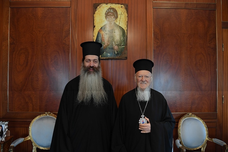 Archbishop Ieronymos officially invited the Ecumenical Patriarch to Athens