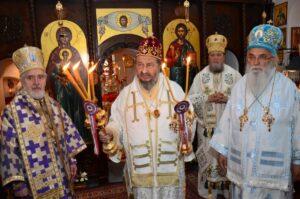 Liturgie de l'Annonciation et commémoration du 40e anniversaire du trépas de saint Justin Popovitch au monastère de Ćelije (Serbie)