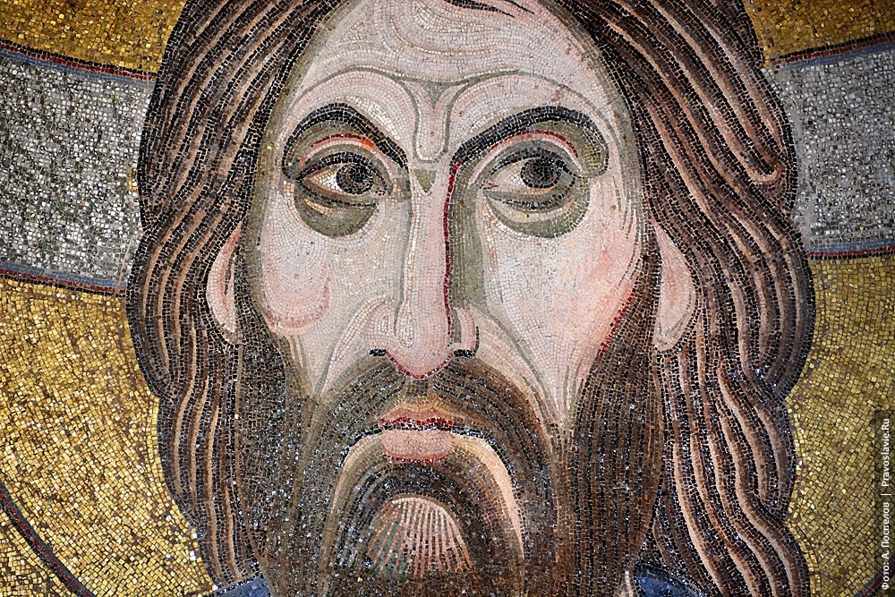 Galerie de photographies des mosaïques du monastère de Daphni
