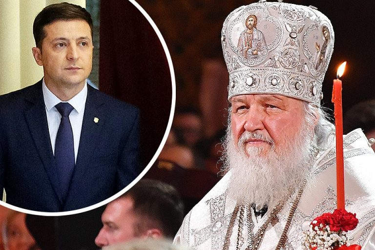 Félicitations du patriarche Cyrille à Vladimir Zelenski, nouveau président ukrainien