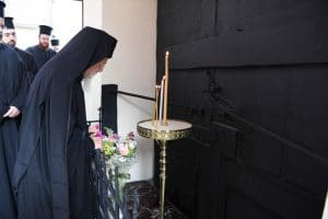 Patriarch Bartholomew of Constantinople honored the memory of his predecessor Patriarch Gregory V