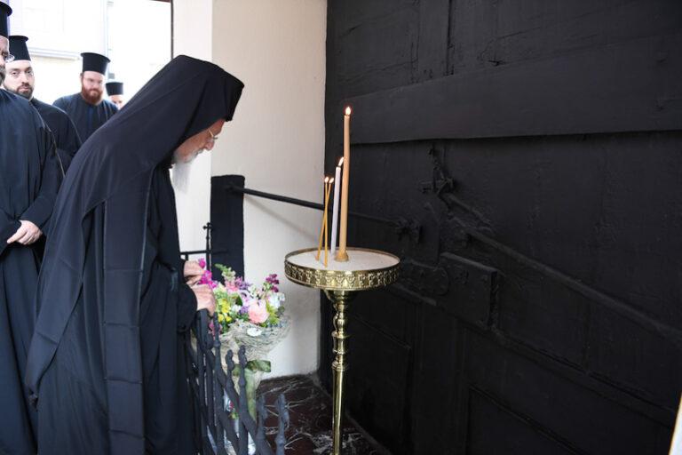 Le patriarche de Constantinople Bartholomée a honoré la mémoire de son prédécesseur le patriarche Grégoire V
