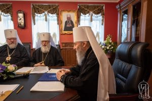 Statement of the Holy Synod of the Ukrainian Orthodox Church on the current situation in Ukrainian and World Orthodoxy