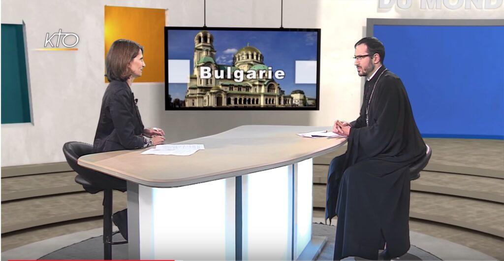 Télévision : entretien avec le père Ivan Karageorgiev sur la Bulgarie