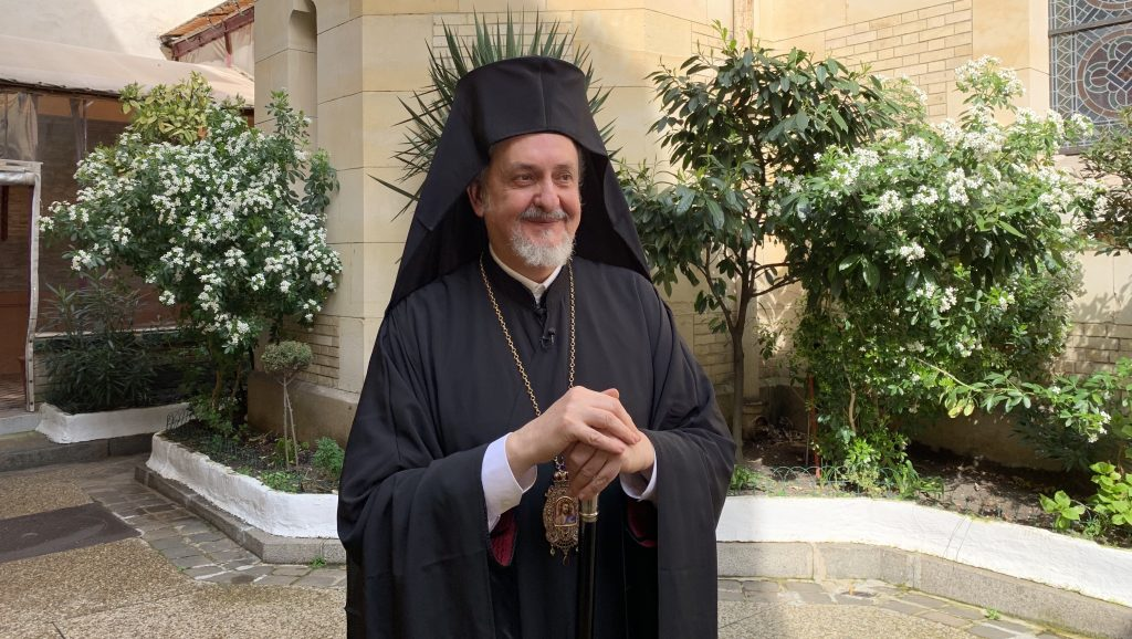 Metropolitan Emmanuel of France is not a candidate for the position of Archbishop of the Archdiocese of America