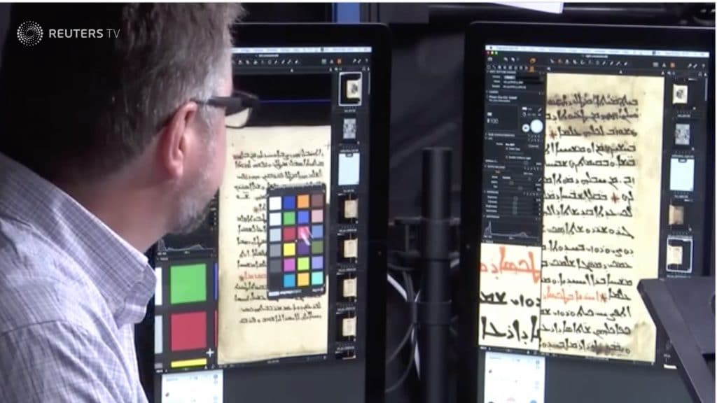 Mount Sinai Monastery has its ancient Christian manuscripts being digitized