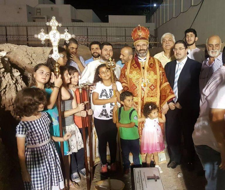 Construction d'une église orthodoxe à Oman