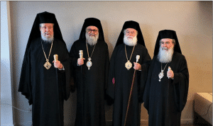 Message of unity from the Orthodox Primates of the Middle East