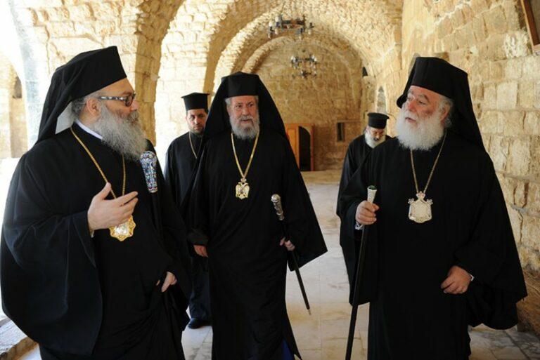 Un sommet de quatre primats se tient à Chypre sur la question ukrainienne