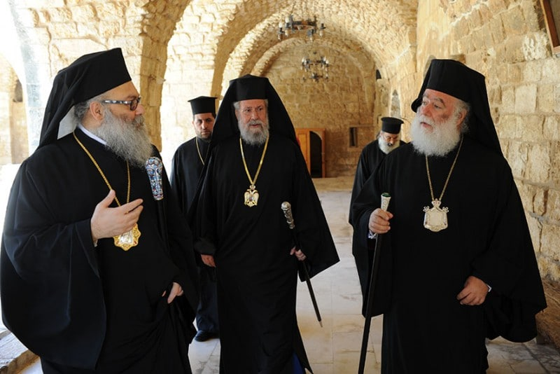 Cyprus summit with four primates on the Ukrainian question