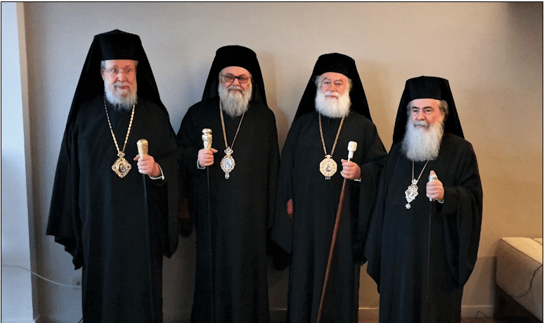 Communiqué of the meeting of the primates in Cyprus